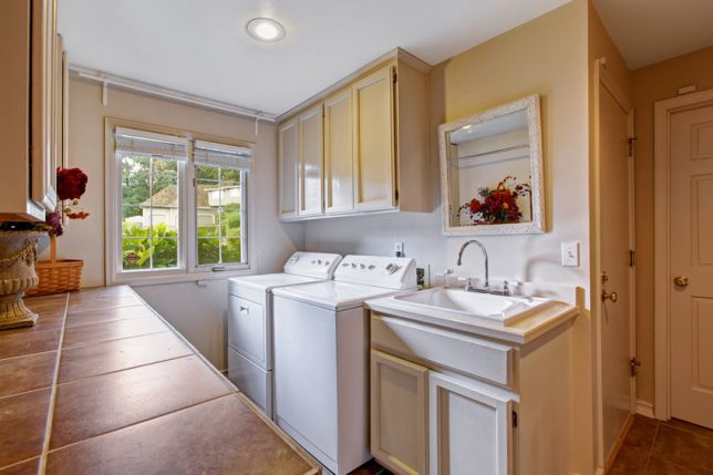 Laundry Rooms Trends Move Up In Home Remodeling Plans