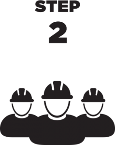 Step 2 Contractor Icon